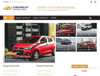chevrolet-bandung.com screenshot