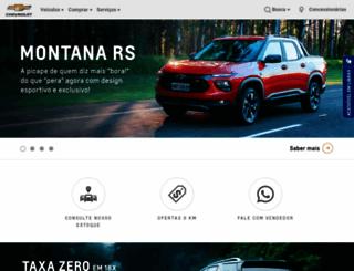 chevrolet.com.br screenshot