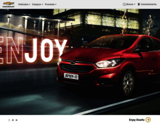 chevrolet.com.ec screenshot