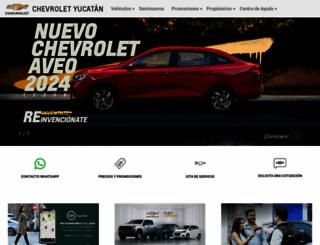 chevroletyucatan.com.mx screenshot