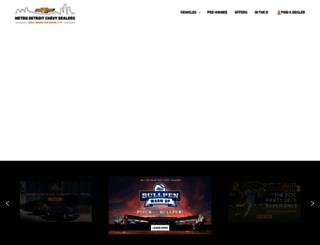 chevydetroit.com screenshot