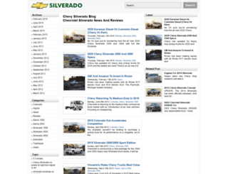 chevysilveradoblog.com screenshot