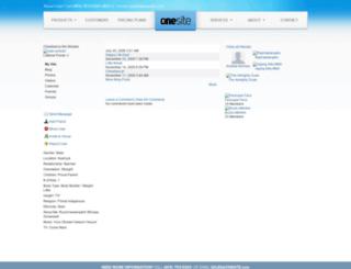 chewbacca.onesite.com screenshot