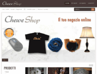 cheweshop.com screenshot