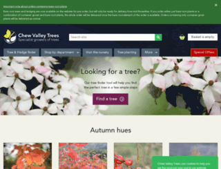 chewvalleytrees.co.uk screenshot