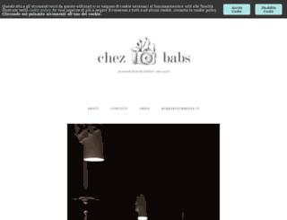 chez-babs.com screenshot