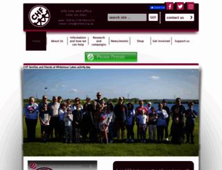 chfed.org.uk screenshot