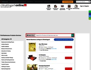 chhattisgarhonline.in screenshot