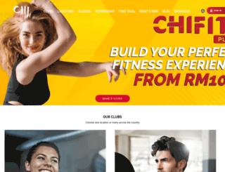 chi-fitness.com screenshot