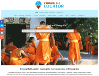 chiangmailocator.com screenshot