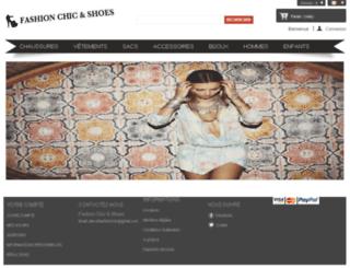 chic-and-shoes.com screenshot