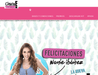 chicaemexico.com screenshot