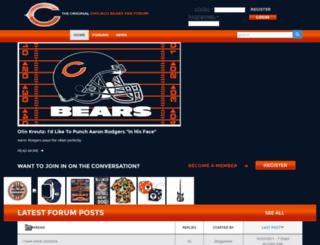 chicagobearboards.com screenshot