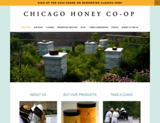 chicagohoney.squarespace.com screenshot