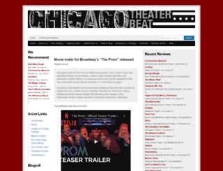 chicagotheaterbeat.com screenshot