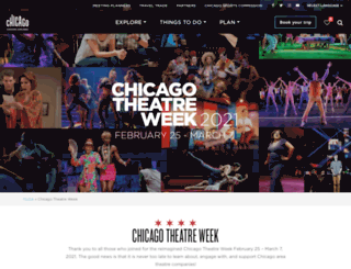 chicagotheatreweek.com screenshot