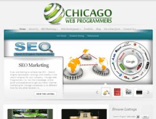 chicagowebprogrammers.com screenshot