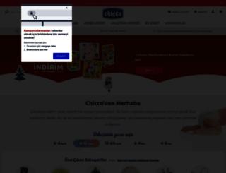 chicco.com.tr screenshot