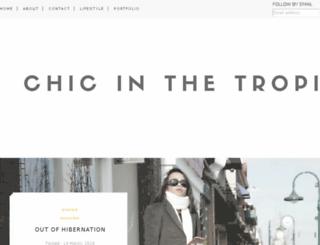 chicinthetropics.com screenshot