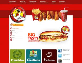 chickenhutaddis.com screenshot