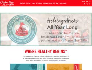 chickensoupforthepetloverssoul.com screenshot