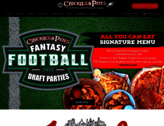chickiesandpetes.com screenshot