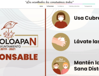 chicoloapan.gob.mx screenshot