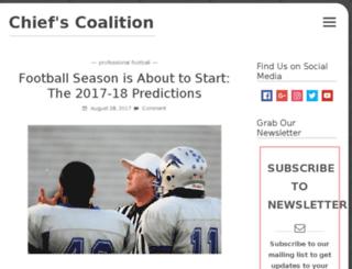 chiefscoalition.com screenshot
