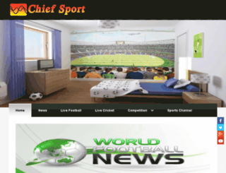 chiefsport.zohosites.com screenshot