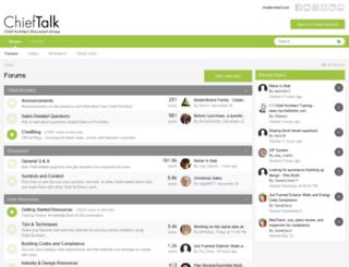 chieftalk.com screenshot