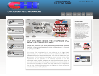 chiheads.com.au screenshot