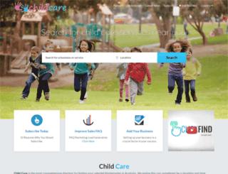 childcare.net.au screenshot