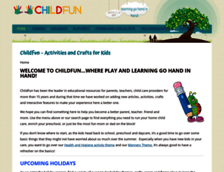 childfun.com screenshot