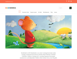 childrenbookillustrators.net screenshot