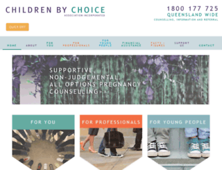 childrenbychoice.org.au screenshot