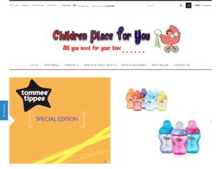 childrenplace4u.com screenshot