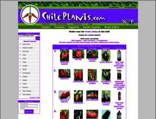 chileplants.com screenshot