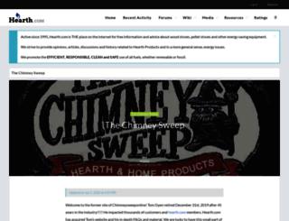 chimneysweeponline.com screenshot