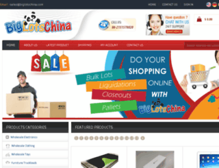 chinabiglots.com screenshot