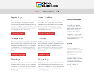 chinabloggers.info screenshot