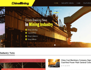 chinamining.com screenshot