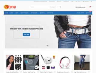 chinashopcart.com screenshot