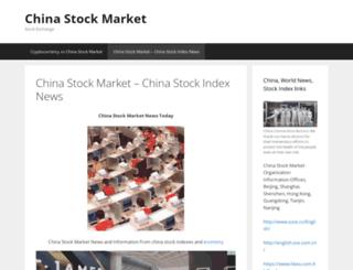 chinastockmarket.org screenshot