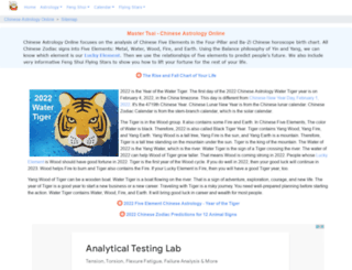 chineseastrologyonline.com screenshot