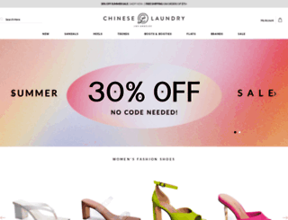 chineselaundry.com screenshot