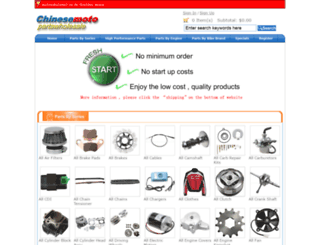 chinesemotopartswholesale.com screenshot