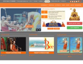 chinnajeeyar.guru screenshot