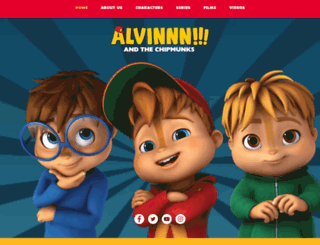 chipmunks.com screenshot
