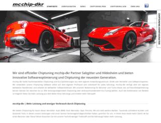 chiptuning-mcchip.com screenshot