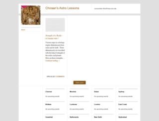 chiraon.wordpress.com screenshot